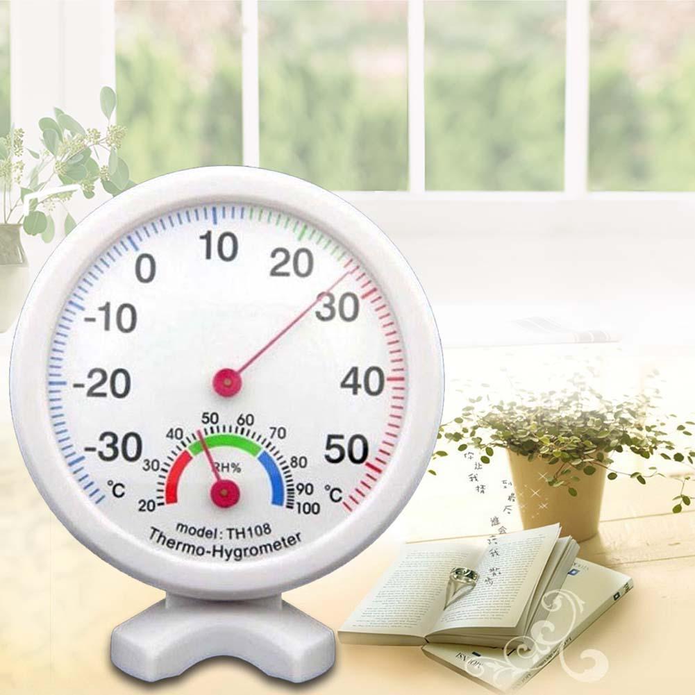 Rond grand cadran mini thermomètre intérieur mur température wet hot hygromètre thermomètre intérieur best home hygromètre