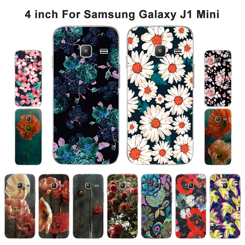 TPU Silicone For Samsung Galaxy J1 mini Phone Case Fancy Painted For Funda J1 mini J105 J105H Soft Back Cover Capa
