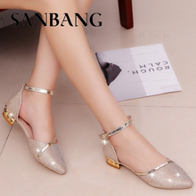 2018 Summer Sandals Female Crystal Shoes Hollow Fashion Elegant Simple Increase Comfort Wear-Resistant Non-Slip Pure Color LX5