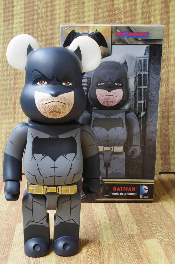 Batman Bearbrick Action Figure 400% Be@rbrick Cos Batman Doll PVC ACGN figure Toy Brinquedos Anime hot selling oversize 1000% bearbrick luxury lady ch be rbrick medicom toy 52cm zy503