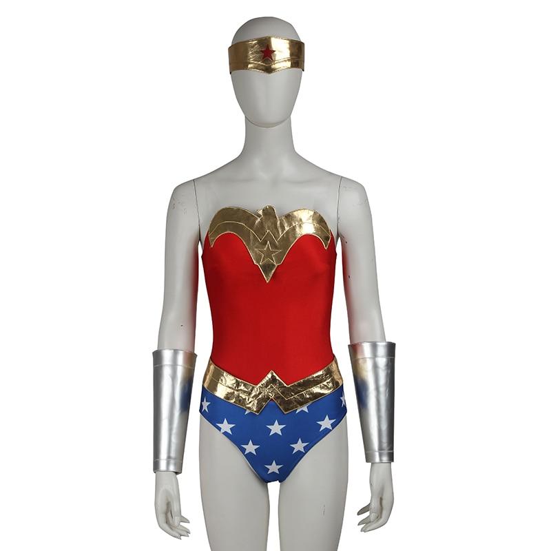 Здесь продается  Wonder Woman Costume Superhero Costume Justice League Diana Prince Wonder Woman Cosplay Halloween Costumes for Women Custom Size  Одежда и аксессуары