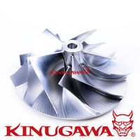 Kinugawa Turbo рабочее колесо компрессора 60,5/78 мм 6 + 6 для Mitsubishi TD05 TD06 для Garrett 60 1