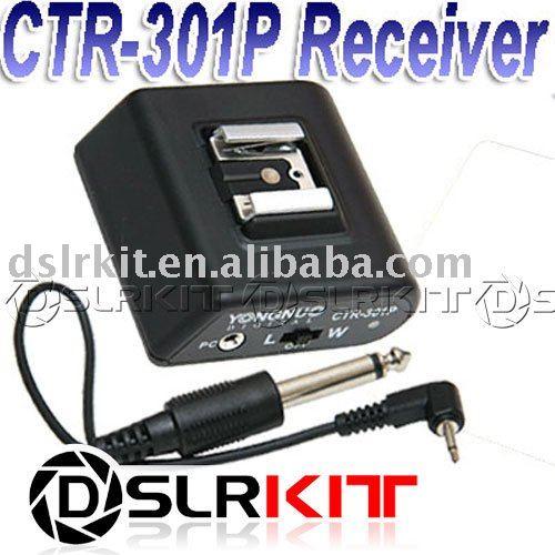 Новая версия Беспроводная Вспышка Триггера Приемника CTR-301 P CTR-301P w/PC