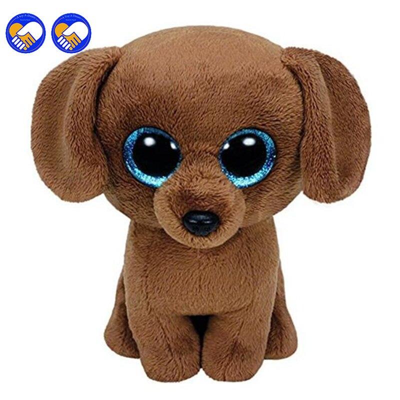 Игрушка мечта оригинальный ty Шапочка Боос большие Средства ухода для век плюшевые игрушки куклы коричневая собака ty подарок для маленьких ...