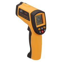 BENETECH GM900 Mini Gun Shaped LCD Display Non-contact Digital IR Infrared Laser Thermometer