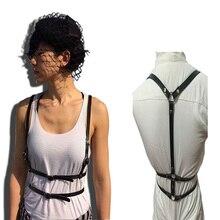 Сексуальные роскошные ремни женские модные новые в стиле панк ремни регулируемые дизайнерские через плечо ремни Связывание