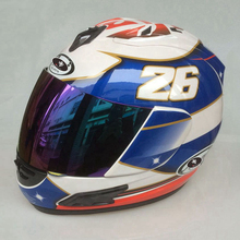 Бесплатная доставка #26 Дани педроса мужчин Moto GP синий мотоциклетный шлем Capacete de Moto шлемы дорожный Moto велосипед шлем Шлем Moto