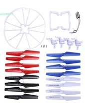 Motor Blade Propeller Landing Skid Protectors Set Spare Part For Syma X5C RC Drone 66