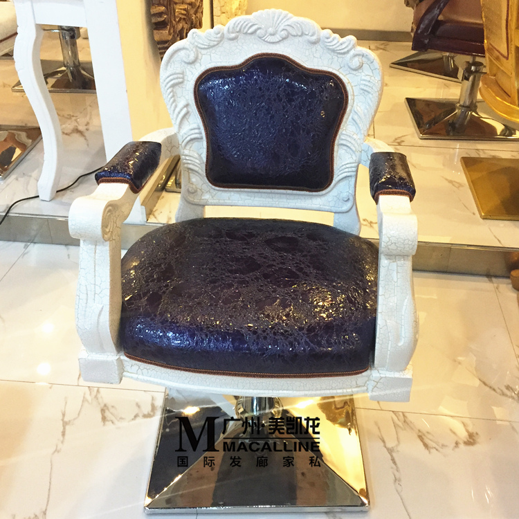 Manufacturers Selling European Hairdressing Chair. Retro Glass Reinforced Plastics Hairdressing Chair
