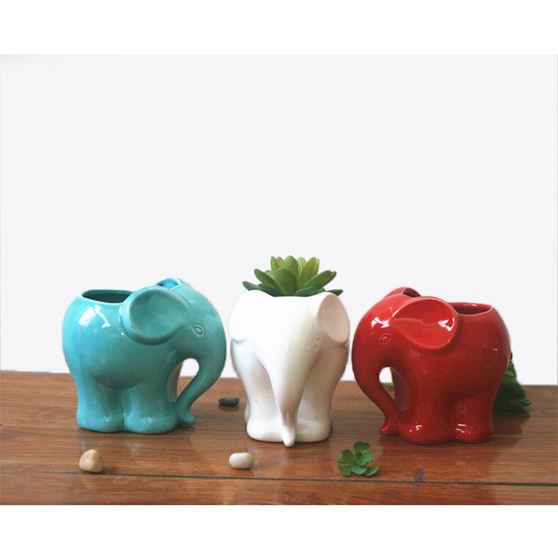 1pc Minimalist Elephant Суккуленттерге арналған - Бақша өнімдері - фото 3
