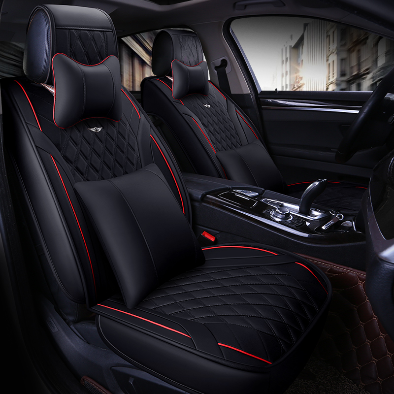 Bmw X6 Seat Covers: New 5Seats( Front+Rear) Car Seat Covers For Audi Toyota