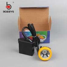 купить LED Li Ion Battery Mining Lamp 10000lux 6600mAh 3W with great power 20pieces/lot KL5LM(C) дешево