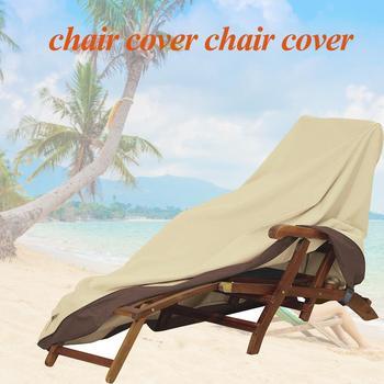 Wodoodporne zewnętrzne meble ogrodowe tarasowe pokrowce na krzesła pokrowce na krzesła przeciwdeszczowe Sofa stół i krzesła odporny na kurz osłona przeciwsłoneczna tanie i dobre opinie Poliester waterproof 190T coated silver polyester taff