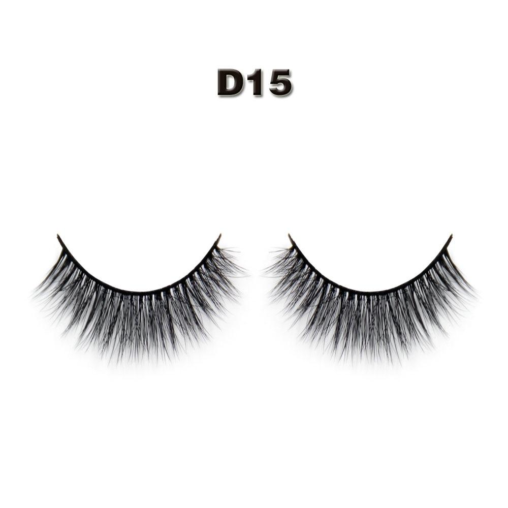 Natural Black False Eyelashes Eyelash Extension Of Handmade 100