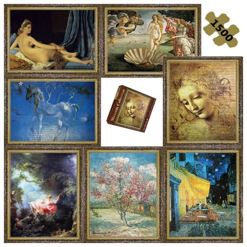 Vente chaude Vieux Maître Peinture À L'huile Puzzles La Naissance - Jeux et casse-tête - Photo 6