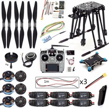 DIY Set PIX4 Flight Control ZD850 Frame Kit M8N GPS Remote Control Radio Telemetry ESC Motor Props for RC 6-Axle Drone F19833-D