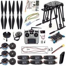 DIY Set PIX4 Uçuş Kontrol ZD850 çerçeve kiti M8N GPS Uzaktan Kumanda Radyo Telemetri ESC Motor Sahne RC 6  aks Drone F19833 D