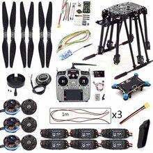 DIY Set PIX4 Điều Khiển Chuyến Bay ZD850 Khung Kit M8N GPS Điều Khiển Từ Xa Đài Phát Thanh Từ Xa ESC Động Cơ Đạo Cụ cho RC 6  trục Bay Không Người Lái F19833 D
