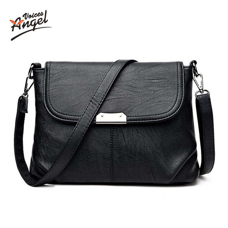 Angel Voices Brand 2017 High Quality Women Messenger Bags Shoulder Luxury Handbags Women Bags Designer Leather Crossbody Bags steve cockram 5 voices