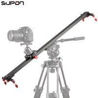 60 센치메터 슬라이더 DSLR 트랙 돌리 슬라이더 카메라 비디오 안정화 레일 시스템 카메라 사진 무료 배송