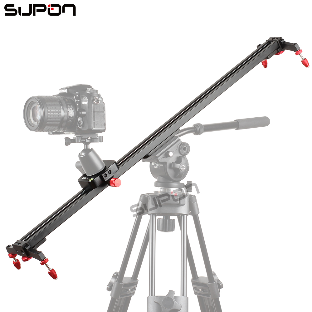 60cm Slider DSLR Track Dolly Camera Slider Video Stabilization Rail System for camera Photography free shipping цена и фото