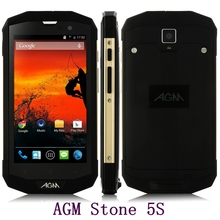 Original AGM STONE 5S 4G LTE IP67 Rugged Waterproof Mobile Phone Android MSM8926 Quad Core 5 Inch Touch Screen 8MP Camera GPS