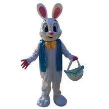 Halloween páscoa coelho mascote trajes coelho adulto tamanho páscoa natal
