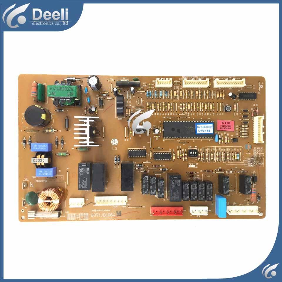 90% New For Refrigerator Frequency Inverter Board Driver Board GR-P207ER 6871JB1064 6871JB1064M/Z Used Board