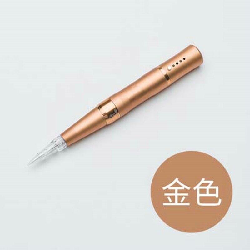 Elektrische Neue Tattoos Micro Nadel Maschine Aufgeladen Werden Kann Augenbrauen Und Lippen Schönheit Wimpern Tattoo Ausrüstung Tattoo Pistole