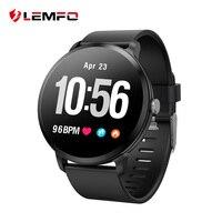 LEMFO V11 Smart Watch 1.3 Inch 240*240 Tempered Glass Screen IP67 Waterproof Heart Rate Monitoring Blood Pressure For Men Women
