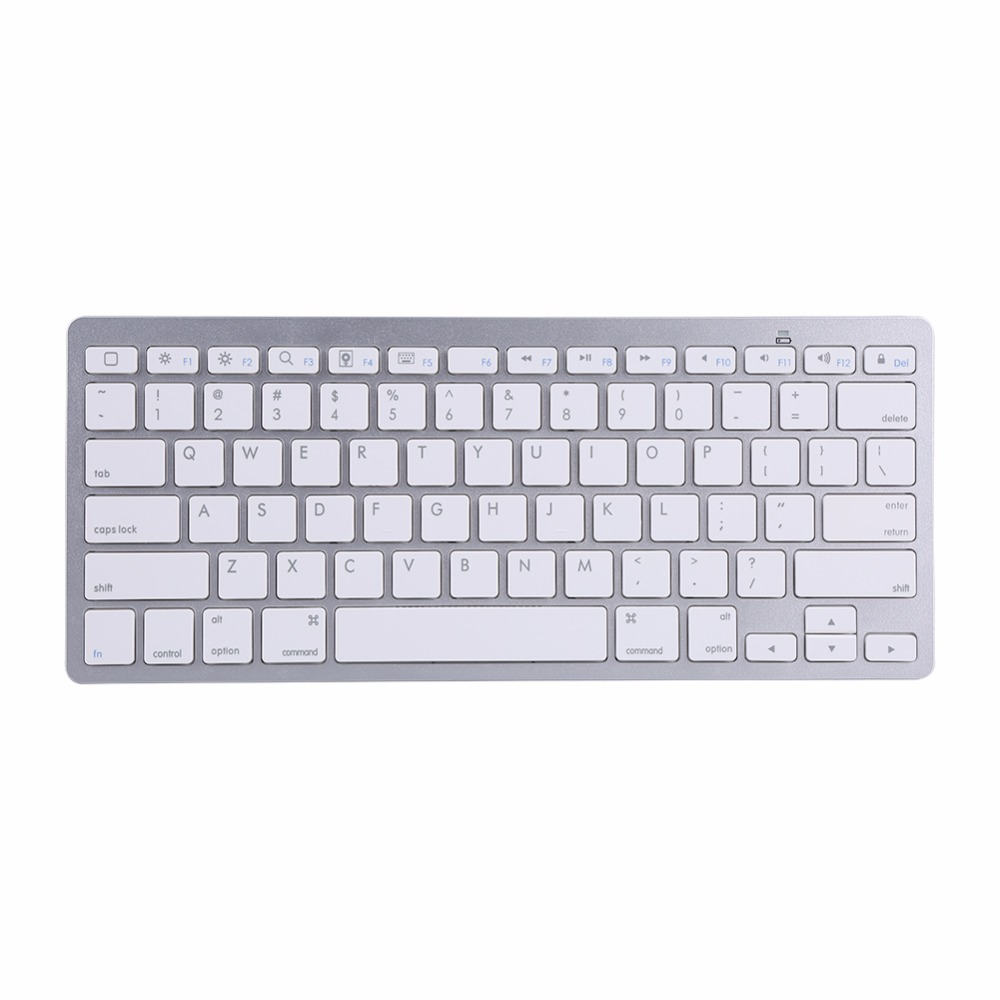 Bluetooth Wireless Keyboard Keypad Ultra-Slim For Android IOS PC Apple iPad