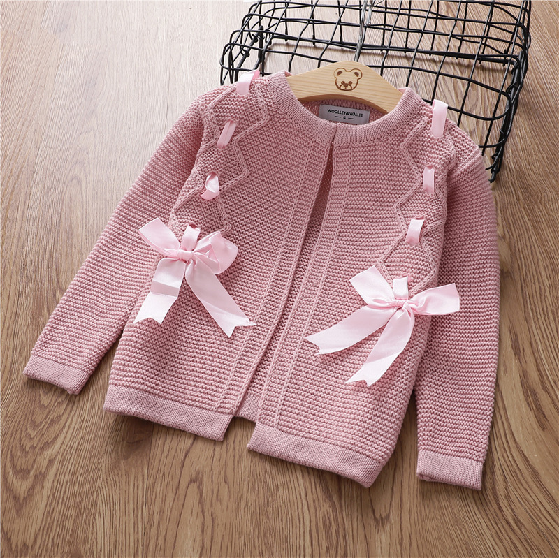 2018 new fashion girls sweaters fashion cardigans girls clothing chidsweater B85242 2018 new fashion girls sweaters 2 6years children clothing c8069