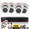 SUNCHAN 4CH CCTV System AHD 720P DVR Kit 4pcs 1 0Megapixel CCTV DVR 4Channel AHD DVR