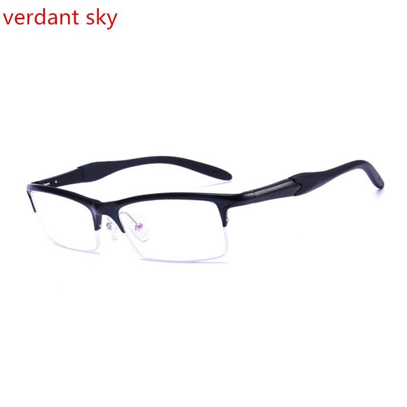 1.56 Kleur Veranderende Lens Merk Bril Frames Aluminium Magnesium-legering Frame Spektakel Brillen Bijziendheid Bril