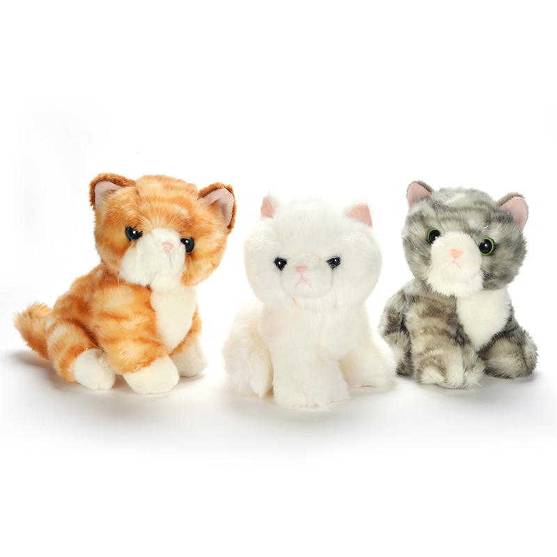 Plush Cartoon Cat Toys Cute Super Present Children Company Soft Stuffed Animal Dolls Birthday Best Gifts for Kids Friend Baby 7 free shipping emulate tiger plush animal stuffed toy gift for friend kids children kids boys birthday party gifts zoo king