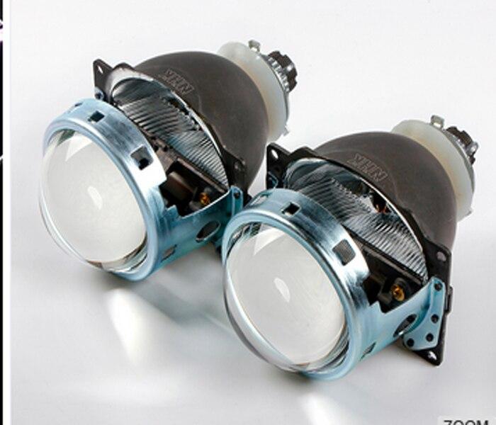 Универсальный 3,0 дюймов Q5 автомобиль Биксеноновые спрятал объектив проектора без HID лампы для фар автомобиля высокий низкий пучок