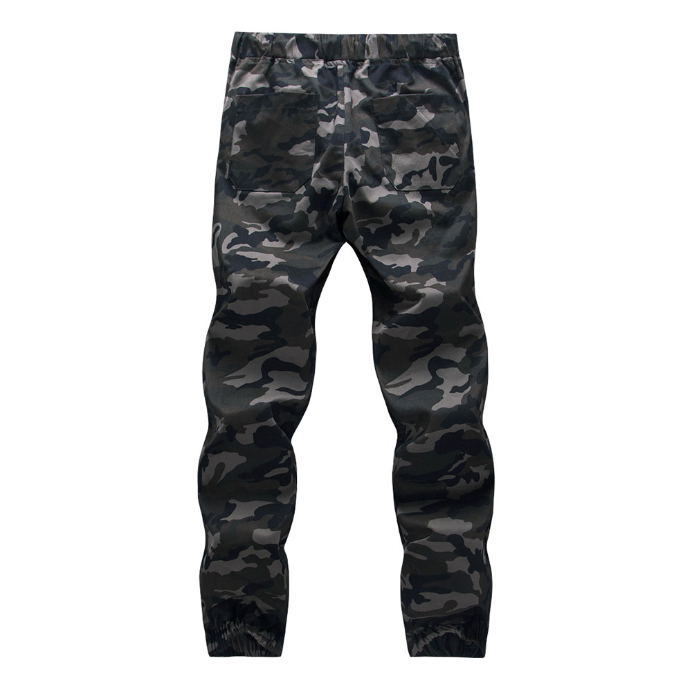 Cotton Mens Jogger Autumn Pencil Harem Pants 2020 Men Camouflage Military Pants Loose Comfortable Cargo Trousers Camo Jogger 14