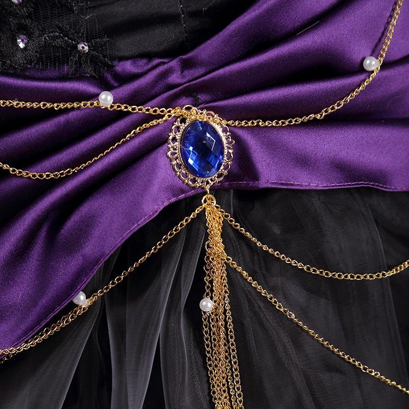 Lolita Cosplay Élégant Victoria Lady Femmes Tenue Robe Rita Costume Loro Gothique Détective Fantaisie Animation qwPwB5WIO