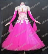 High Quality Waltz Tango dance Dress competitive Ballroom dance dress, crystal stones chacha,salsa dance ballroom dress B-0077