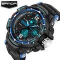 Sanda reloj led digital reloj de los hombres relojes de primeras marcas de lujo famoso electronic sport reloj de pulsera hombre reloj relogio masculino