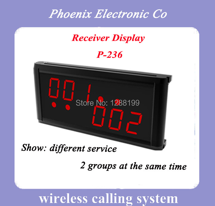 Waiter Restaurant Wireless Ordering System Show Two Group Number Quality Guaranteed