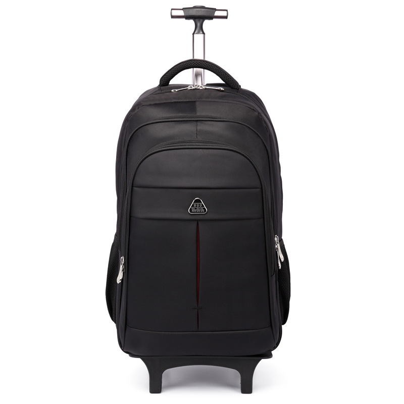 Trolley backpack multi function nylon backpack business large capacity mobile travel bag detachable waterproof luggage bag
