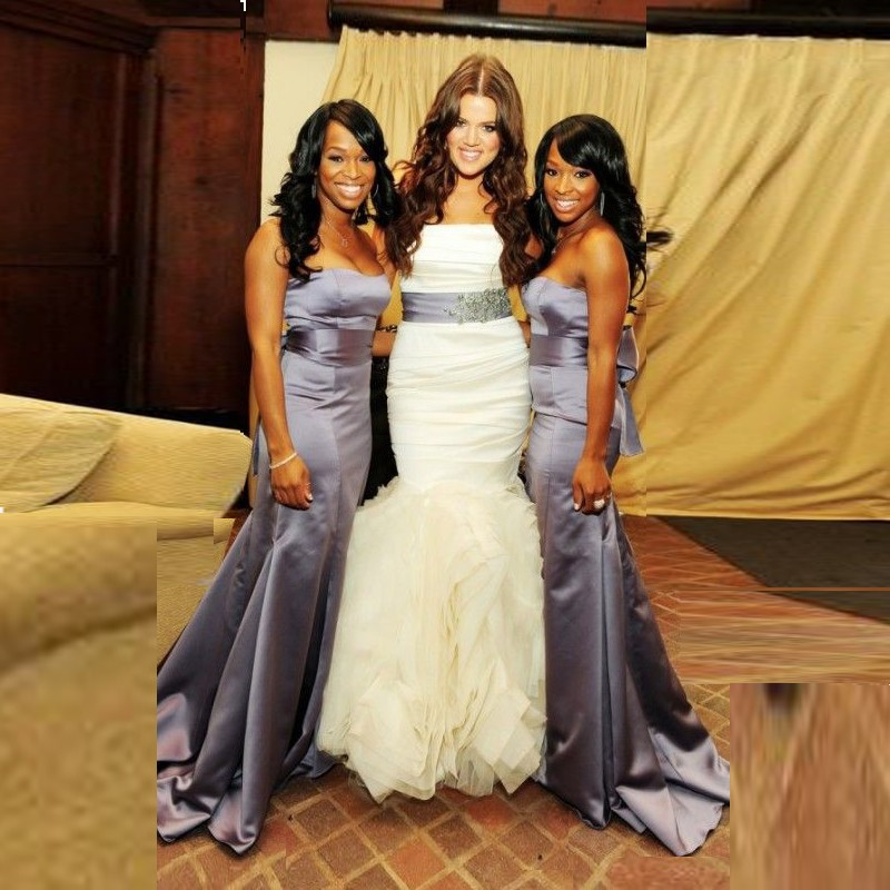 Plus Size Mermaid Bridesmaid Dresses 2017 Sweetheart Lilac ...