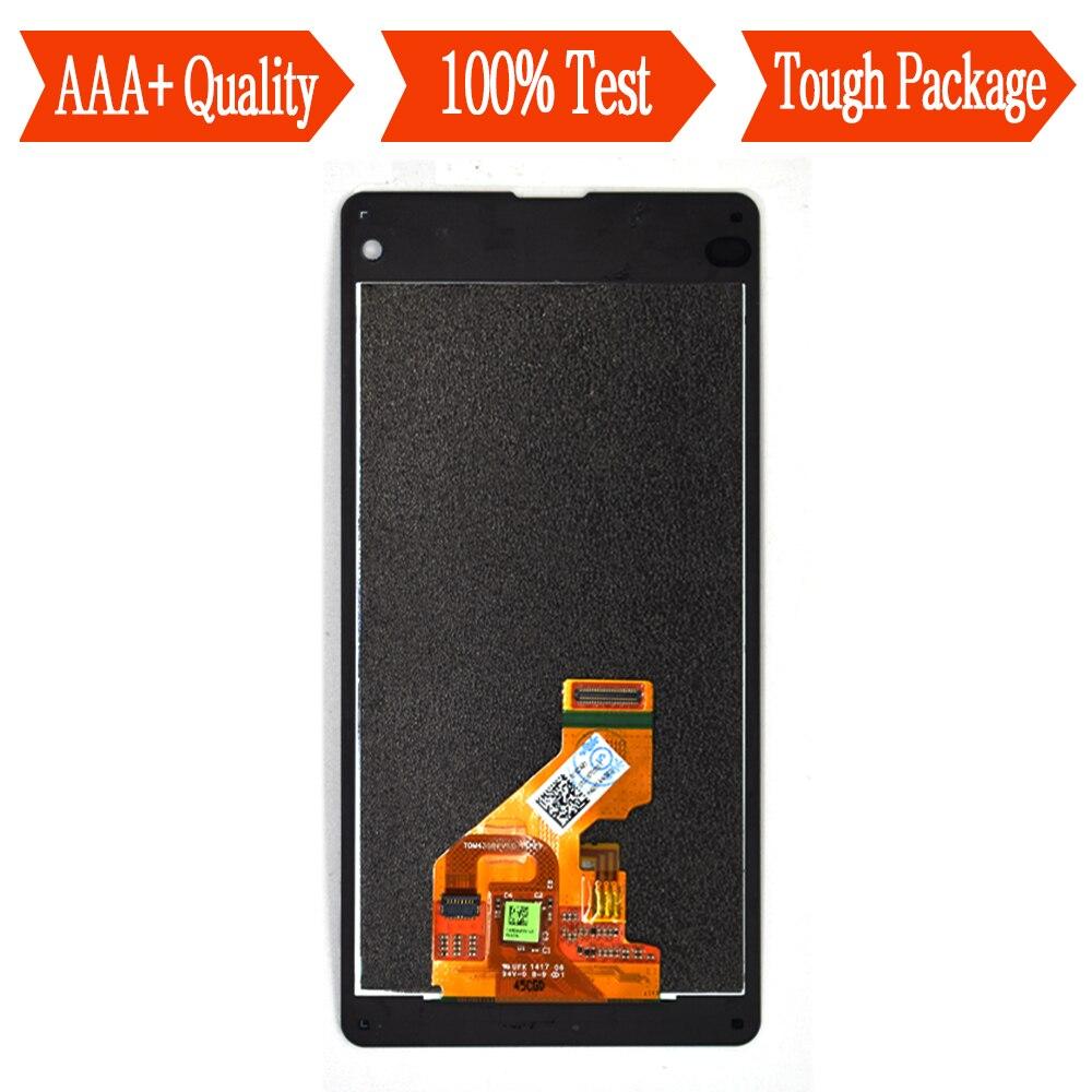 Pour Sony Xperia Z1 compact M51w z1 mini Z1MINI D5503 Écran Tactile Digitizer Capteur Panneau + Écran LCD Moniteur Module l'assemblée