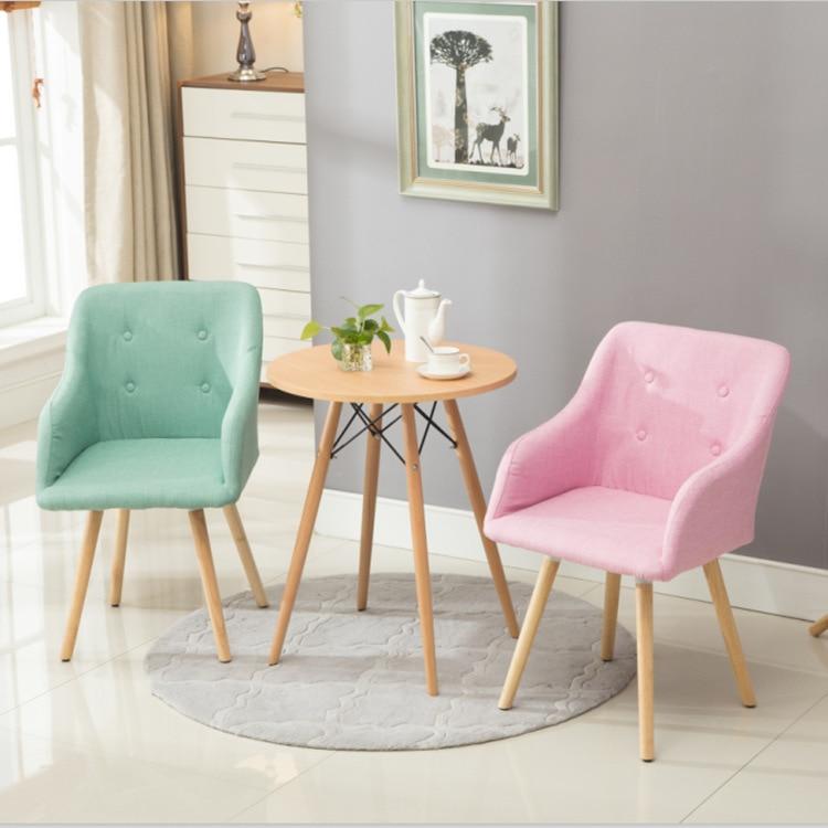 Простой скандинавском стиле бытовой офисное кресло современный стул hotel Cafe стул отдыха Мода компьютерный стул мебель питания ...