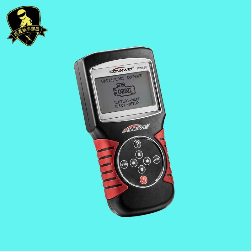 Цена за Оригинал Konnwei KW820 OBD OBDII 2 Автомобилей/Двигатель Автомобиля Диагностический Профессия Сканер Инструмент Код Читателя Сканирования Инструменты Для НАС ЕВРО