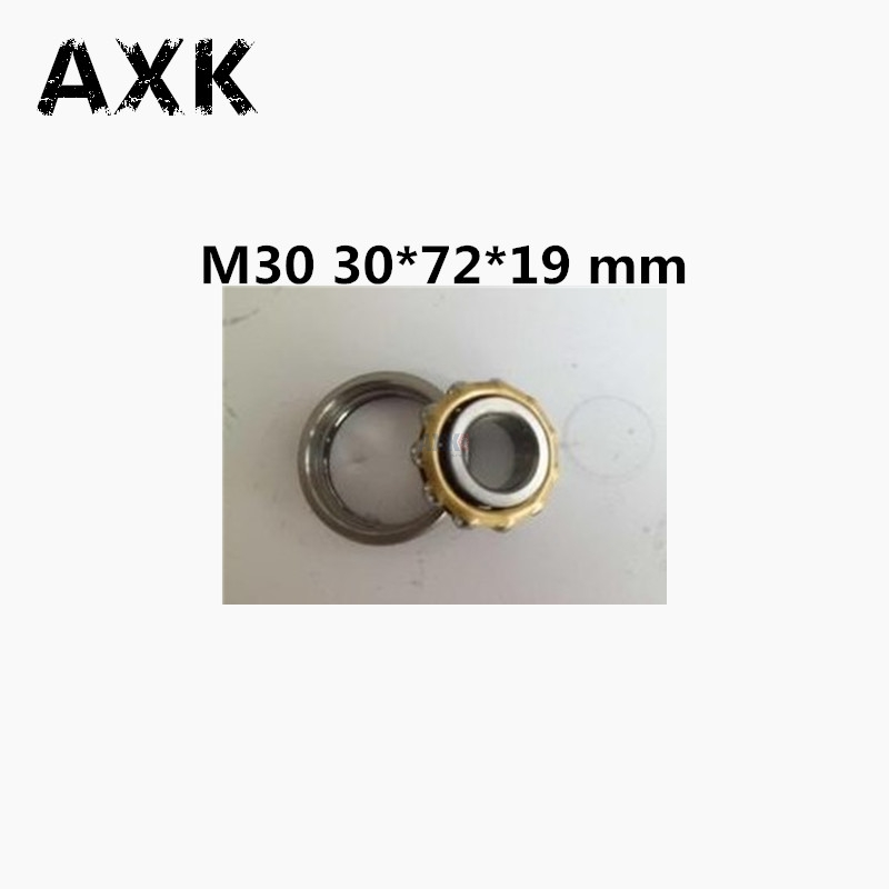Free shipping 1pcs high quality M30 Magneto Bearing 30*72*19 mm Angular Contact Separate Permanent Motor Ball Bearings m25 magneto bearing 25 62 17 mm 1 pc angular contact separate permanent motor ball bearings