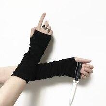 ┽ Summer Woman UV Arm Warmers Set Сплошной цвет Солнцезащитный крем Хлопок Защита вождения