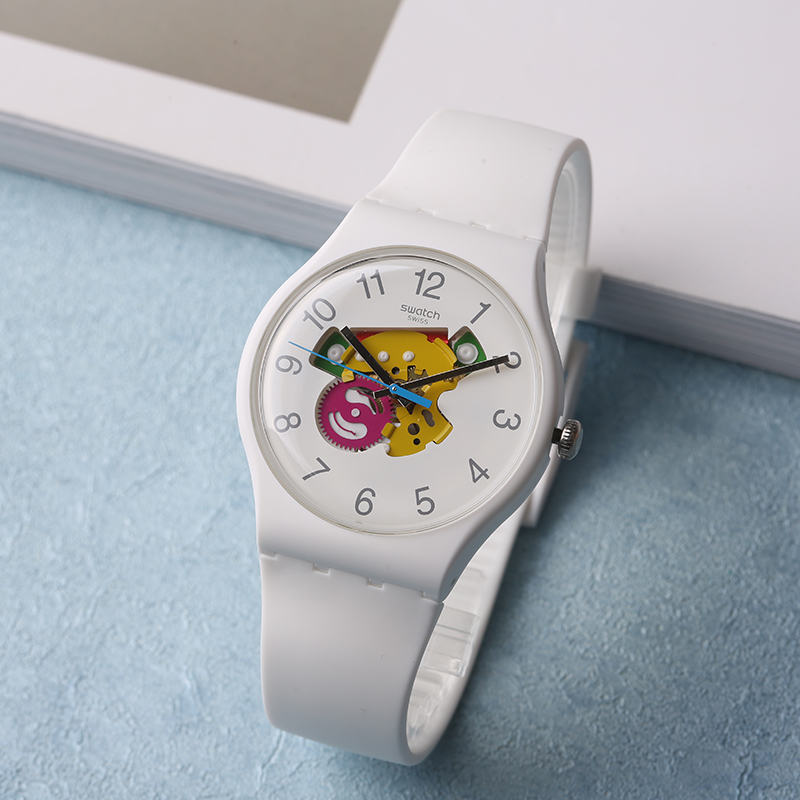 Swatch Watch Colorful Perspective Quartz Men's Watch SUOW148 swatch watch quartz men s watch pnz100