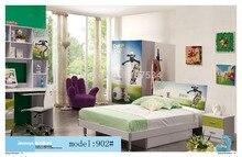 Спальня мебель для дома кровать шкаф стол тумбочка вращающееся кресло стоячая вешалка для шляп набор мебели
